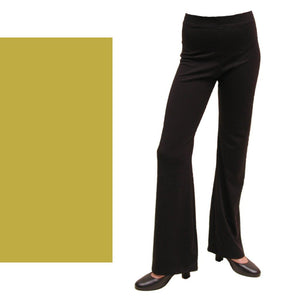 DANNI - GOLD NYLON LYCRA JAZZ PANTS / TROUSERS Dancewear Dancers World