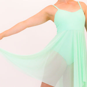 DREAM - CAMISOLE LYRICAL DRESS Dancewear Click Dancewear Mint 00 (Age 2-4)
