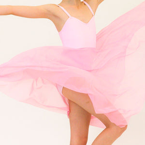 DREAM - CAMISOLE LYRICAL DRESS Dancewear Click Dancewear Pale Pink 00 (Age 2-4)