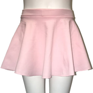 ECS - PASTEL PINK COTTON SHORT CIRCULAR SKIRT Dancewear Dancers World