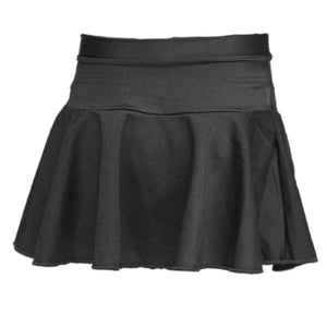 ECSB - SHORT CIRCULAR SKIRT ON BASQUE Dancewear Dancers World