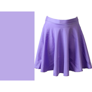 ECSM - MEDIUM LENGTH CIRCULAR SKIRT Dancewear Dancers World Lilac Small Child