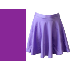 ECSM - MEDIUM LENGTH CIRCULAR SKIRT Dancewear Dancers World Purple Small Child