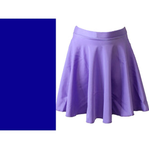 ECSM - MEDIUM LENGTH CIRCULAR SKIRT Dancewear Dancers World Royal Blue Small Child