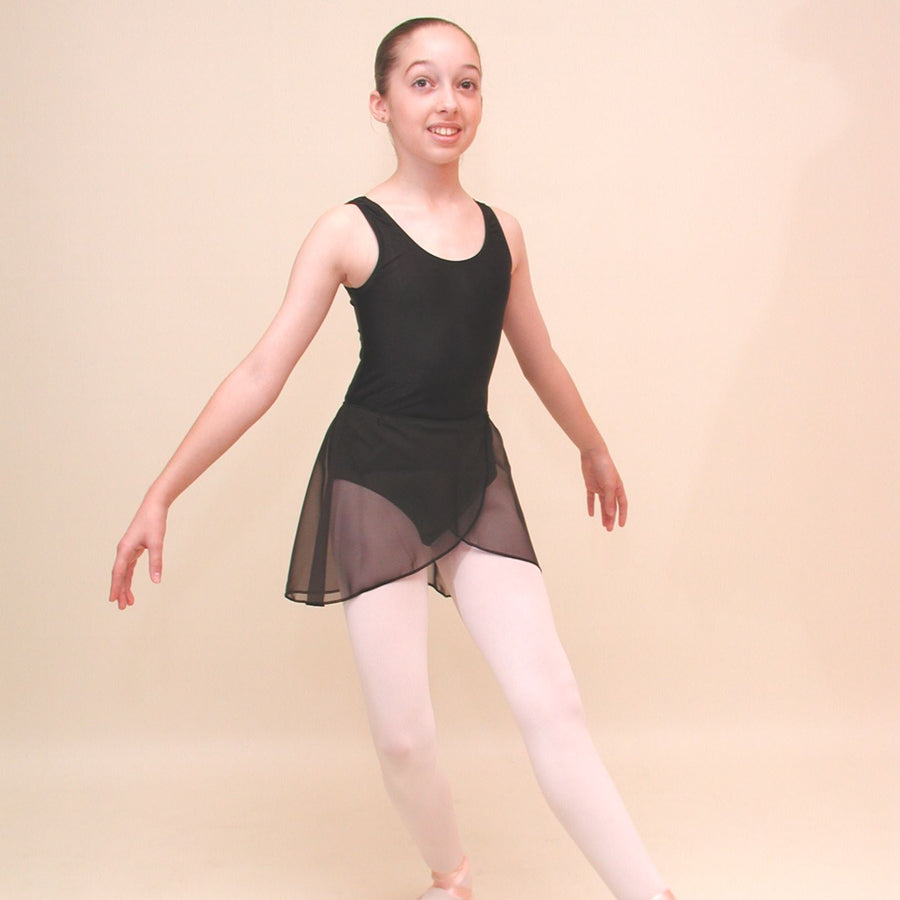 GPETAL - PETITE LENGTH GEORGETTE WRAPOVER PETAL SKIRT Dancewear Dancers World