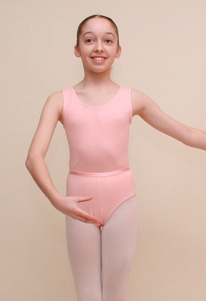 GRACE - SLEEVELESS COTTON LEOTARD Dancewear Dancers World