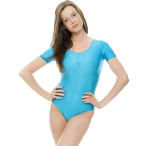 HALEY - SHORT SLEEVE LEOTARD Dancewear Dancers World