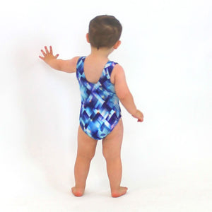 HALOGEN PRINT - BABY SIZES - PLAIN FRONT LEOTARD Dancewear Dancers World