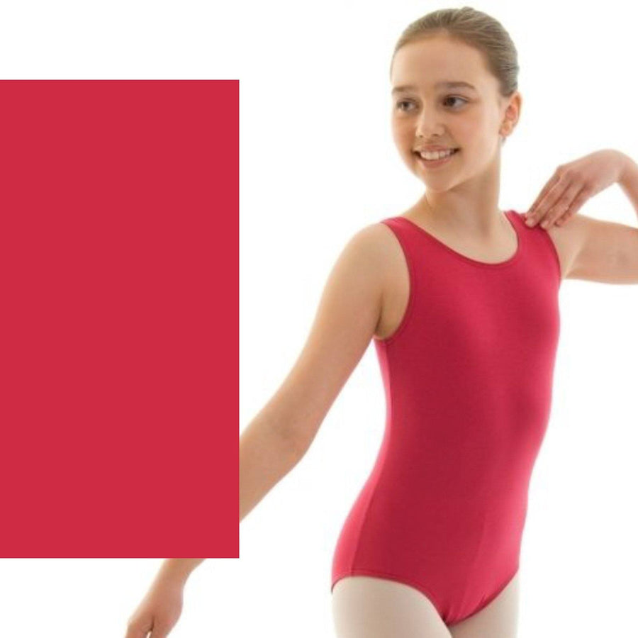 HELENA - ISTD STYLE COTTON LEOTARD Dancewear Dancers World