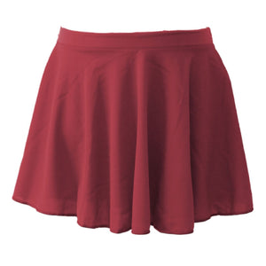 ISTD POLY/CREPE CIRCULAR SKIRT Dancewear Dancers World