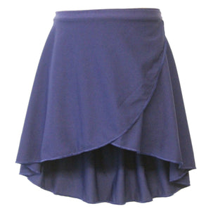 "ISTD WRAPOVER SKIRT Dancewear Dancers World Navy Blue 20-24"" waist"