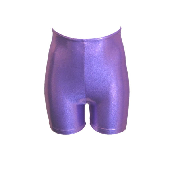 JAMIE - LILAC SHINE HOTPANTS / SHORTS Dancewear Dancers World