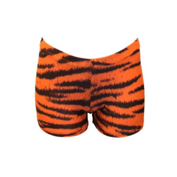 JODIE - TIGGER HIPSTER HOTPANTS SHORTS Dancewear Dancers World