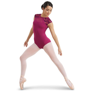 LACE CAP SLEEVE LEOTARD Dancewear Balera