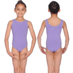 LAVENDER SLEEVELESS LEOTARD FOR BBO DANCE BALLET UNIFORM - GRADES 1, 2 & 3 Dancewear Roch Valley