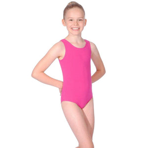 MULBERRY SLEEVELESS LEOTARD FOR BBO DANCE TAP UNIFORM - GRADES 1, 2 & 3 Dancewear Roch Valley