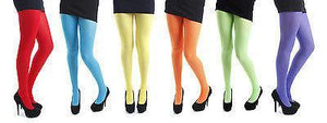 NEON/FLUORESCENT PAMELA MANN FASHION TIGHTS - 50 DENIER - ONE SIZE Women's Dancewear Pamela mann
