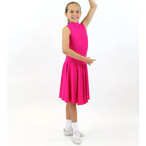 NICOLE - SLEEVELESS LACE BALLROOM PRACTICE DRESS Dancewear Click Dancewear