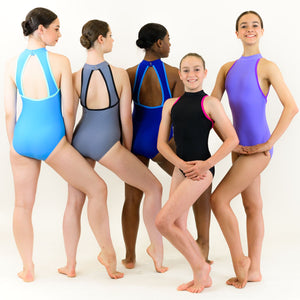 PIPER - RECYCLED STRAP BACK LEOTARD Dancewear Click Dancewear