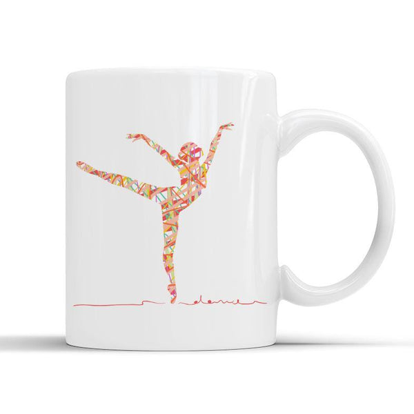 RIBBON BALLERINA MUG - PROFITS FOR NHS Mug Personally Printed