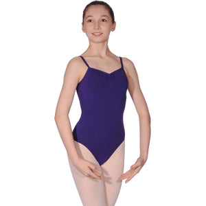 ROCH VALLEY AVA COTTON CAMISOLE LEOTARD Dancewear Roch Valley Violet 2 (Age 9-10)