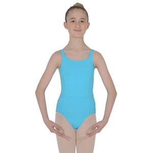 ROCH VALLEY BEATRICE MICROFIBRE SLEEVELESS LEOTARD Dancewear Roch Valley Marine 3A (Age 11-13)