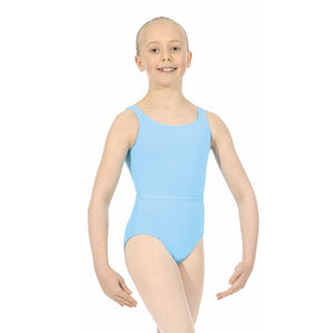 ROCH VALLEY BEATRICE MICROFIBRE SLEEVELESS LEOTARD Dancewear Roch Valley Pale Blue 0 (Age 3-4)