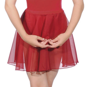 "ROCH VALLEY CIRCULAR CHIFFON SKIRT Dancewear Roch Valley Plum 26"" waist"