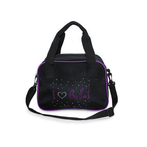 ROCH VALLEY 'I LOVE BALLET' BLACK DANCE KIT BAG Bags & Holdalls Roch Valley