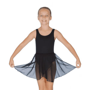 "ROCH VALLEY MATILDA WRAP-OVER SKIRT Dancewear Roch Valley Black 18-20"" (11"")"