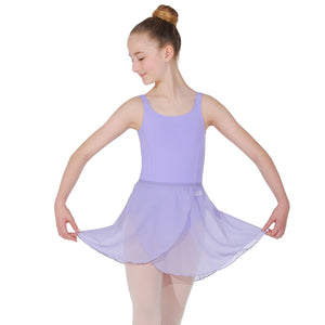 "ROCH VALLEY MATILDA WRAP-OVER SKIRT Dancewear Roch Valley Lilac 18-20"" (11"")"