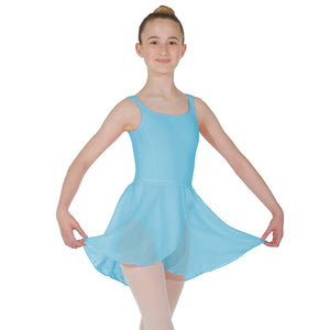 "ROCH VALLEY MATILDA WRAP-OVER SKIRT Dancewear Roch Valley Pale Blue 18-20"" (11"")"