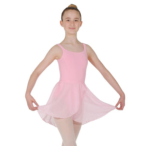 "ROCH VALLEY MATILDA WRAP-OVER SKIRT Dancewear Roch Valley Pink 18-20"" (11"")"