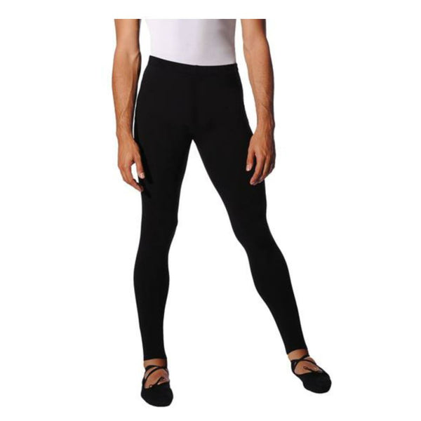ROCH VALLEY MENS RV2381 COTTON FOOTLESS DANCE TIGHTS Dancewear Roch Valley