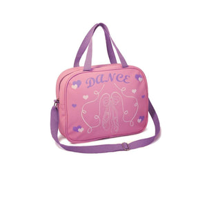 ROCH VALLEY PINK PVC SHOULDER BAG WITH POINTE SHOE DESIGN Bags & Holdalls Roch Valley