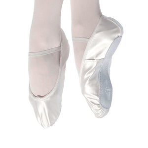 ROCH VALLEY PREMIUM IVORY SATIN FULL SOLE BALLET SHOES Dance Shoes Roch Valley