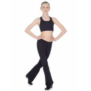 ROCH VALLEY RHYTHM MICROFIBRE JAZZ PANTS WITH KICK FLARE Dancewear Roch Valley