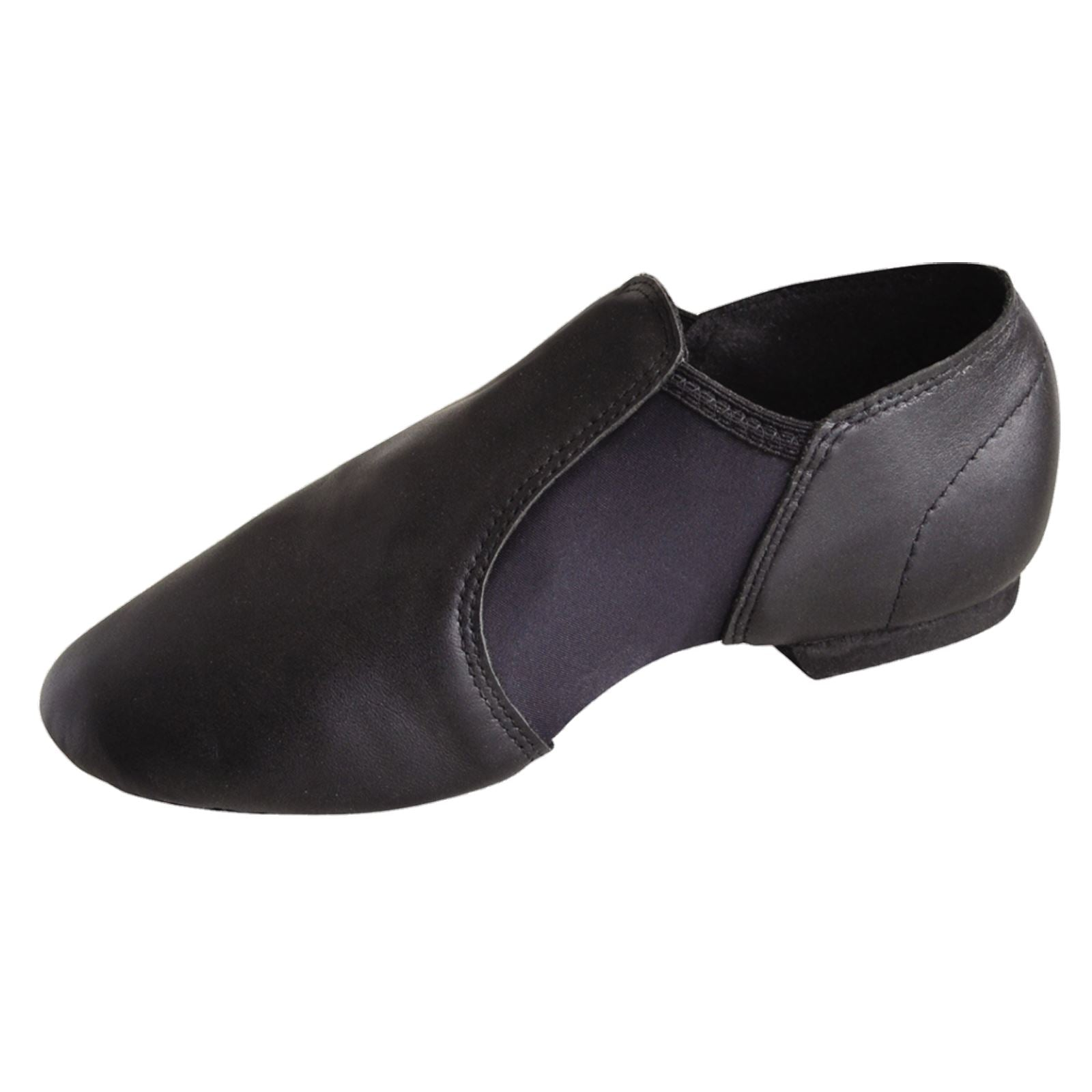 Roch Valley Leather Lace Up Jazz Modern Dance Shoes Full Micro Rubber Soles