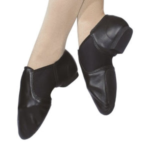 ROCH VALLEY RVNEO LEATHER SPLIT SOLE JAZZ SHOES Dance Shoes Roch Valley Black Junior 10