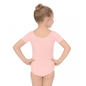ROCH VALLEY SHORT SLEEVE COTTON PRE-PRIMARY LEOTARD Dancewear Roch Valley