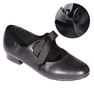 ROCH VALLEY SLIP ON PRE-TIED TAP DANCE SHOE Dance Shoes Roch Valley Child/Junior 5