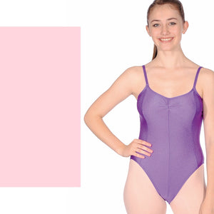 ROCH VALLEY TARA PANELLED CAMISOLE LEOTARD Dancewear Roch Valley Pale Pink 1 (Age 5-6)