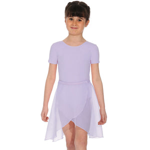 "ROCH VALLEY TULIP REGULATION GEORGETTE WRAPOVER SKIRT Dancewear Roch Valley Lilac 18"" waist"