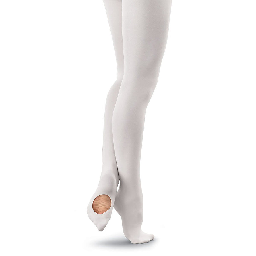 RUMPF 103 CONVERTIBLE TOE BALLET TIGHTS Tights & Socks Rumpf Pink Age 4-6