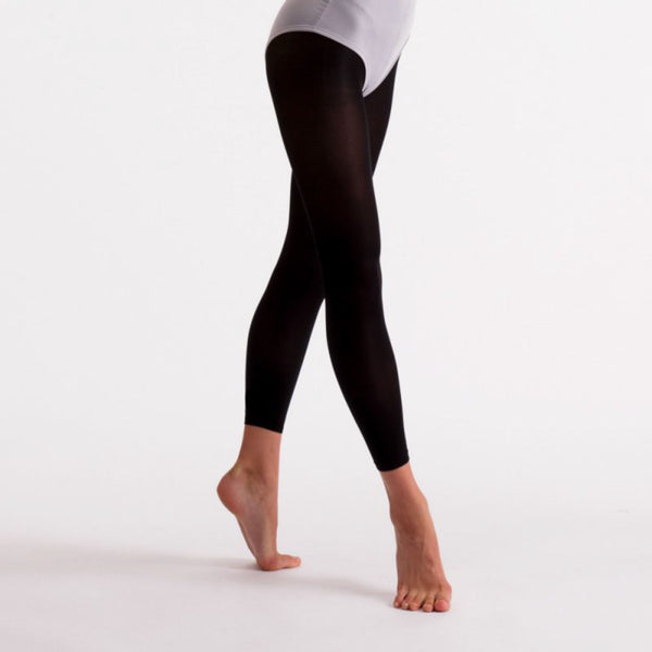 'SILKY' BRAND 40 DENIER BLACK ESSENTIAL FOOTLESS BALLET DANCE TIGHTS Tights & Socks Silky