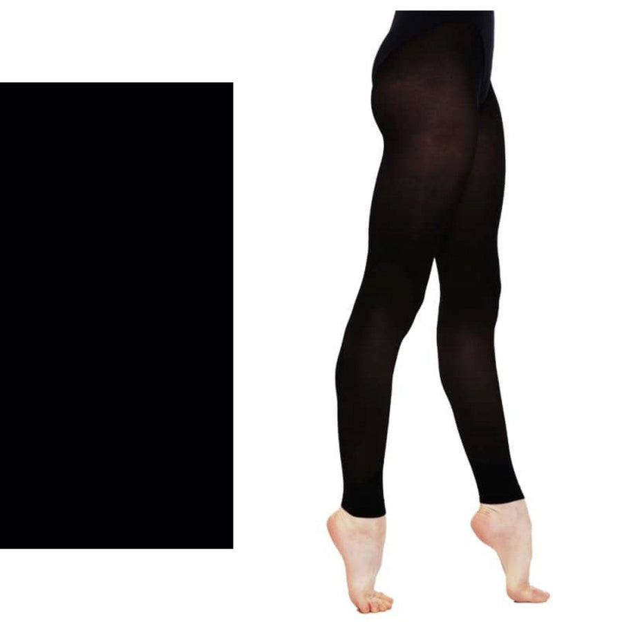 'SILKY' BRAND 60 DENIER BALLET DANCE FOOTLESS TIGHTS Tights & Socks Silky