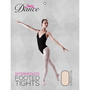 'SILKY' BRAND 60 DENIER FOOTED BALLET DANCE TIGHTS Tights & Socks Silky