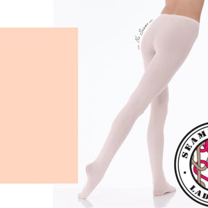 'SILKY' BRAND 80 DENIER THEATRICAL PINK ULTIMATE SEAMLESS FOOTED BALLET DANCE TIGHTS Tights & Socks Silky