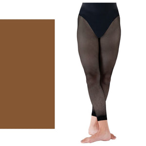 'SILKY' BRAND FISHNET FOOTLESS TIGHTS Tights & Socks Silky Natural Age 11-13