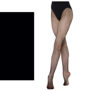 'SILKY' BRAND FISHNET TIGHTS Tights & Socks Silky Black Age 11-13